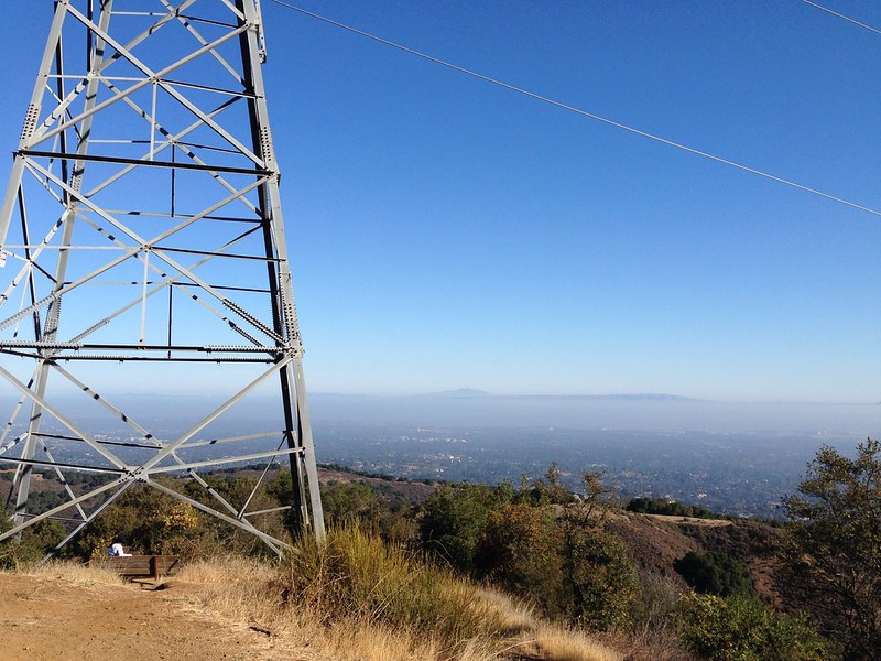 PG&E Trail summit