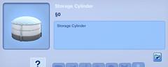 Storage Cylinder