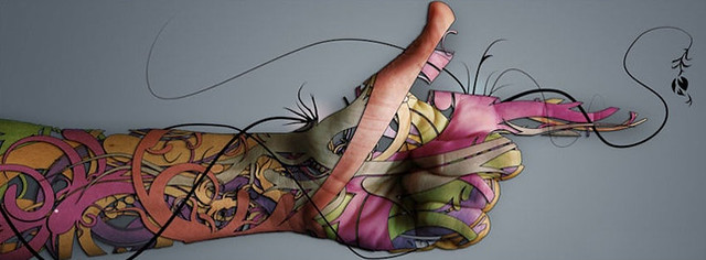 Tattoo Design Facebook Cover Photo