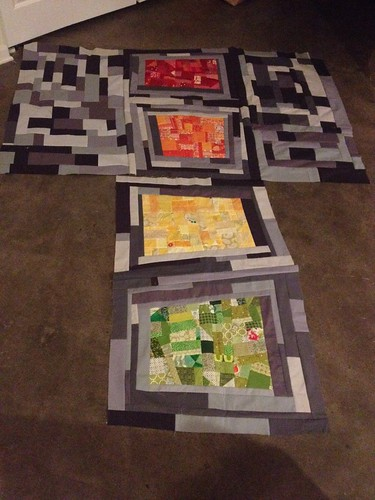 Alex's Quilt in Progress
