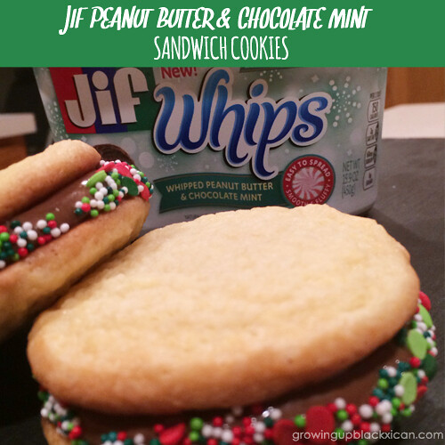 JIF PB CHOCOLATE MINT COOKIES