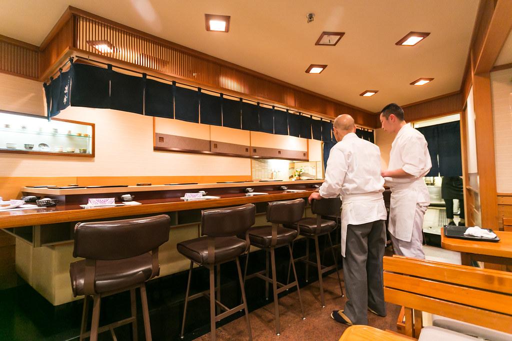 Inside Sukiyabashi Jiro