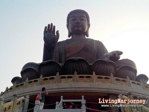 Big Buddha, Hong Kong, by LivingMarjorney on Flickr