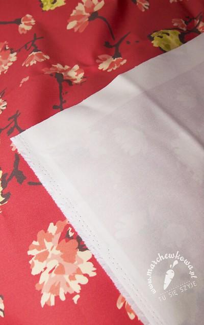 CottonBee, fabric, tkanina, druk na zamówienie, własny wzór, bawełna, gabardyna, kwiaty, Horrockses, repo, reprodukcja