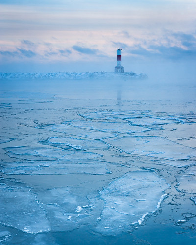 Ice, Water, Desolate, Kewaunee, WI, Winter, Freeze, Cold