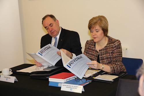 The Scottish Cabinet in Bathgate