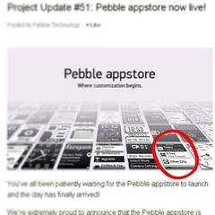#pebble AppStore is live and my app is on the email notification! It's called Weather. Check it out and let me know what you think.