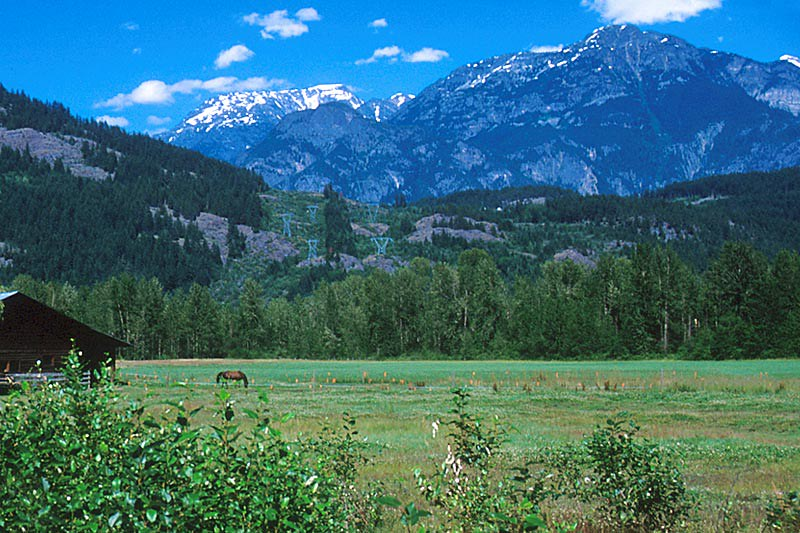 Pemberton, Pemberton Valley, British Columbia, Canada