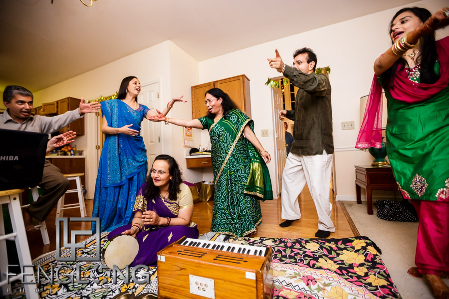 Mehndi Night | Atlanta Hindu Indian Wedding Photographer