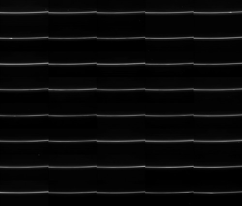 Saturn's F ring Prometheus N00220361 - 400