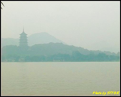 杭州 西湖 (其他景點) - 581 (西湖十景之 柳浪聞鶯 望向 西湖十景之 雷峰塔)