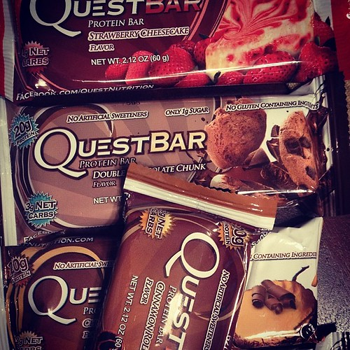 #questbars on a bad day! #healthy #snacks and no I'm not eating them all at the same time!