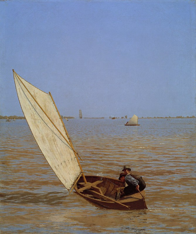 Thomas Eakins - Starting Out After Rail (1874)