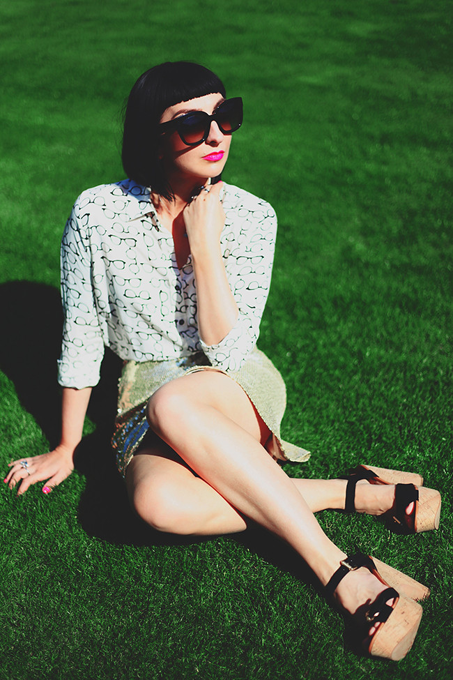 Sequins In The Grass
