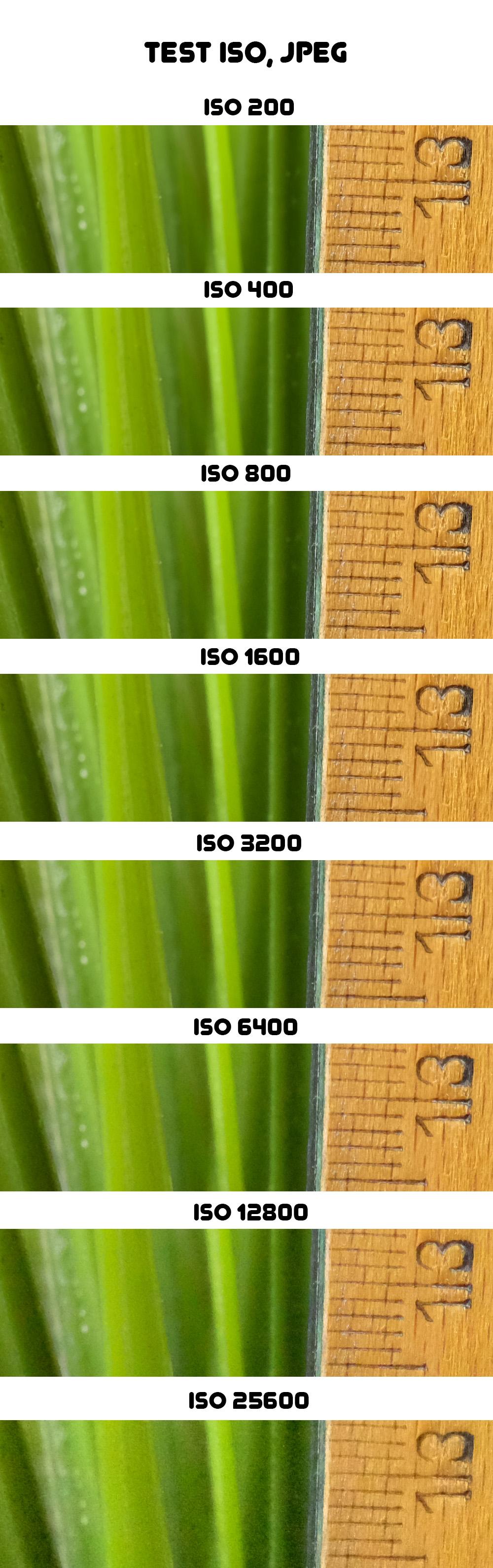 Fujifilm X-T1 - test ISO, JPEG
