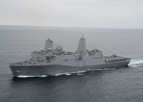 USS Anchorage Departs for RIMPAC, San Diego