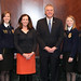 Governor McAuliffe Meets Officers of Virginia Future Farmers of America Association - March 5, 2014