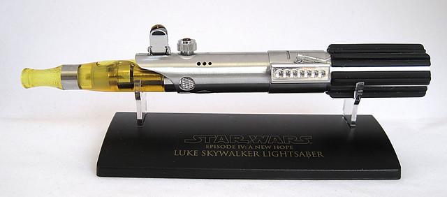 Custom Master Replicas .45 Luke ANH Lightsaber e-Cigarette Mod (vaping) (vape) (eCig) (e-cig) 13086275545_52c2859d6d_z