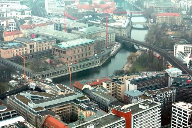 Berlino dalla torre della TV