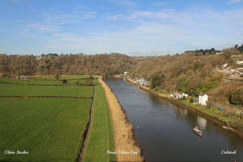 Calstock, River Tamar by www.stockerimages.blogspot.co.uk