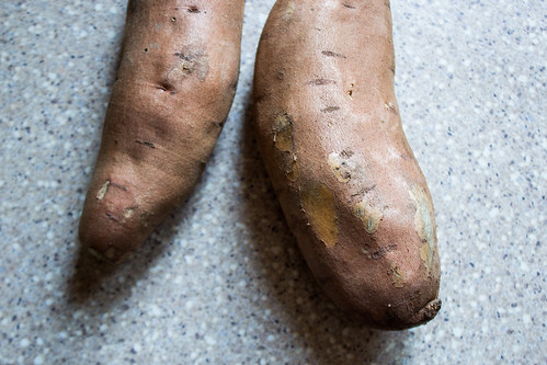 sweet potatoes to start