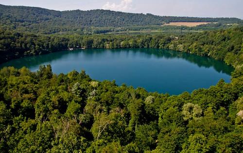 trees lake alberi lago natura basilicata monticchio