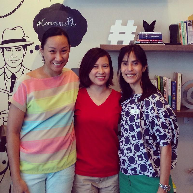 Blog Your Best Shot Workshop: Martine de Luna, Toni Tiu and Mia Marchadesch