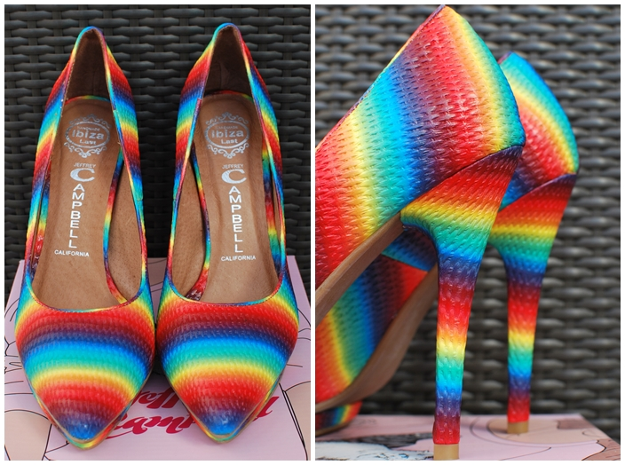 Jeffrey Campbell Bullet NS Rainbow