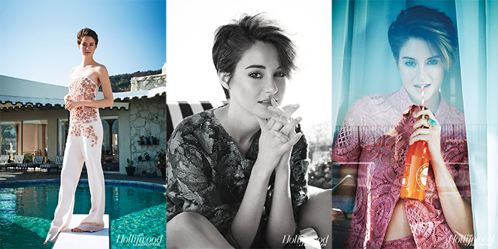 Shailene Woodley The Hollywood Reporter shoot