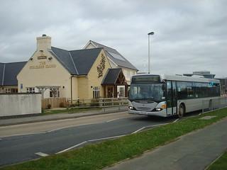 40 service bus in Aberystwyth