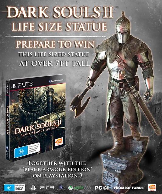 Namco Bandai Australia Giving Away Dark Souls II Life-Size Statue