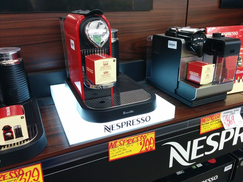 JB Hifi now sells coffee machines