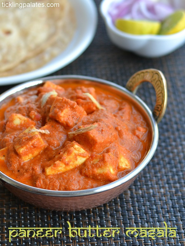 Paneer butter masala recipe easy paneer recipes no onion no restaurant style paneer butter masala forumfinder Choice Image