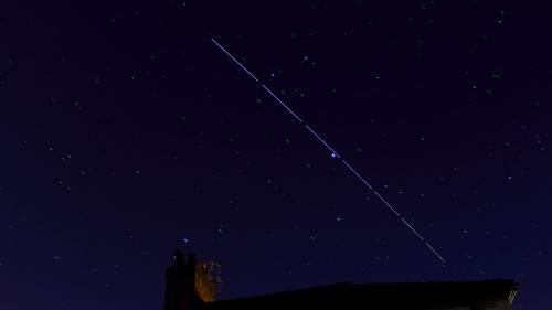 The ISS Sails Past Jupiter - 14/04/2014