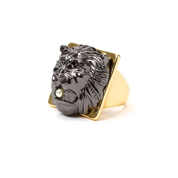 Chunky Lion Ring F