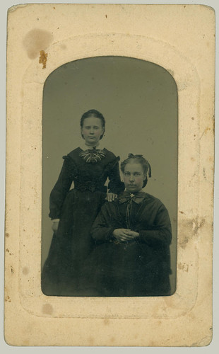 Tintype two ladies