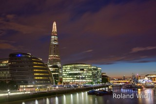 London - View from Tower Bridge