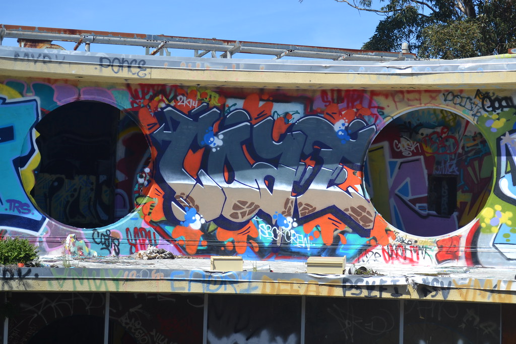 COAT, Graffiti, theyard, San Francisco,