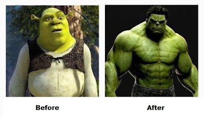 shrek to hulk