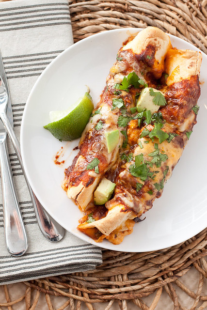 The Best Chicken Enchiladas Ever