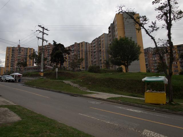 Residential buildings in La Aurora