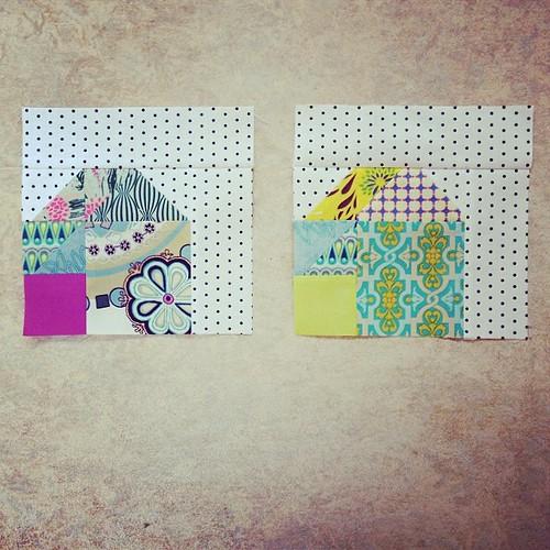 Two tangram houses #doubledutchqal