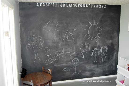 Chalkboard Accent Wall 8