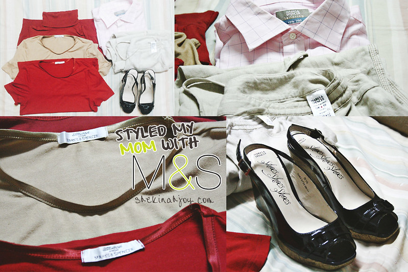Styled my Mom with M&S #MarksSpencerMom - shekinahjoy.com