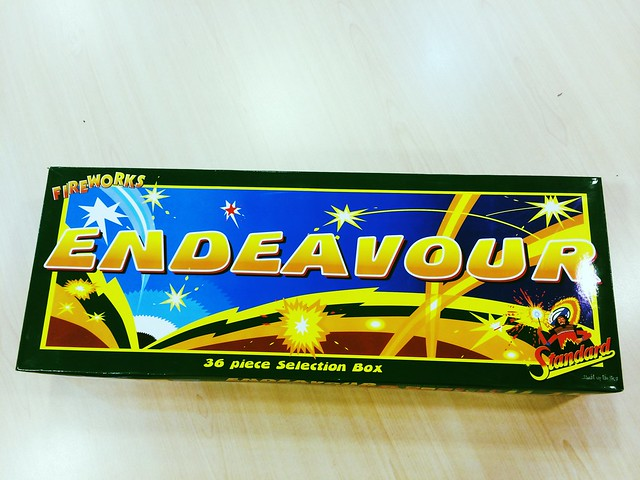Endeavour Selection Box from Standard Fireworks UK ...