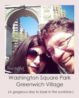 NYC Selfie Washington Square Park