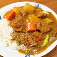 produce(0.0), stew(1.0), curry(1.0), beef(1.0), japanese curry(1.0), meat(1.0), red curry(1.0), food(1.0), dish(1.0), cuisine(1.0), gulai(1.0), gumbo(1.0), goulash(1.0),