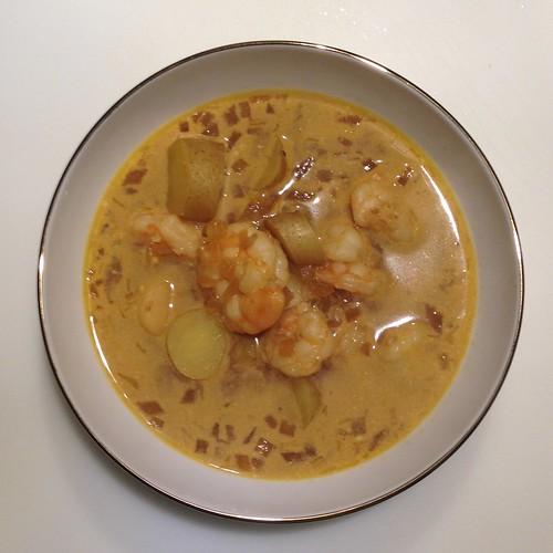 fish and shrimp stew