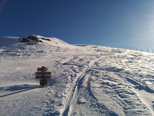 Gipfelaufstieg Toblacher Pfannhorn