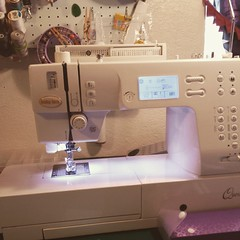 My Precious is home! Let the stitching begin. #sewingmachine #BabyLock